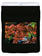 Japanese Maple Canopy Duvet Cover