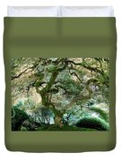 Japanese Maple Tree II Duvet Cover