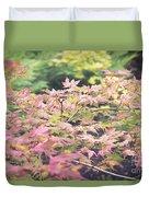 Japanese Maples Duvet Cover