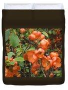 Japanese Quiche Blossoms Duvet Cover