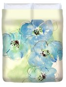Japanese Quince 1 Duvet Cover