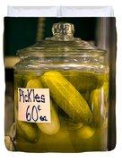 Pickle Jar Duvet Cover