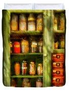 Jars - Ingredients II Duvet Cover