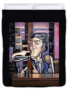 Jay Leno You Been Cubed Duvet Cover