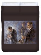 Jazz 01 Duvet Cover