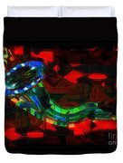 Jazz At Midnight Duvet Cover