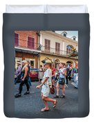 Jazz Funeral...the Second Line 4 Duvet Cover