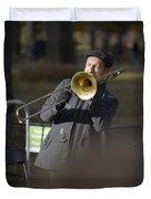 Jazz In Central Park 1 Duvet Cover