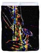Jazz Lights Duvet Cover