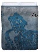 Jazz Man Duvet Cover