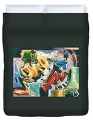 Jazz No. 3 Duvet Cover