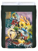 Jazz No. 4 Duvet Cover