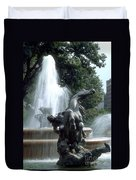 J.c.nichols Fountain 1 Kc.mo Duvet Cover