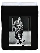 Jean Beliveau Duvet Cover