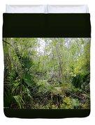 Jean Lafitte National Preserve Swamp Louisiana Duvet Cover