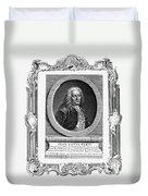 Jean Louis Petit (1674-1750) Duvet Cover