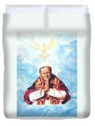 Jean Paul II Duvet Cover