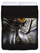Jeans - Abstract Duvet Cover