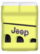 Jeep Logo Duvet Cover
