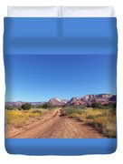 Jeep Trail Duvet Cover