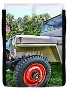 Jeep Willys Ww2 Duvet Cover