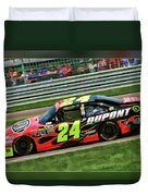 Jeff Gordon Duvet Cover