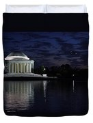 Jefferson At Dusk0253 Duvet Cover