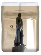 Jefferson Memorial In Washington Dc Duvet Cover