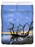 Jekyll Island Seascape Duvet Cover