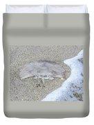 Jellyfish On The Sand Duvet Cover