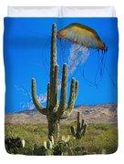 Jellyfish Rising Palm Springs Duvet Cover