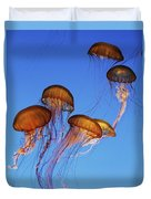 Jellyfish Swarm Duvet Cover