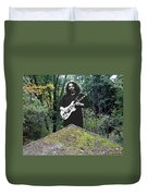 Jerry At The Pyramid In The Woods Duvet Cover