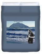 Jerry Garcia At Mt Tamalpaisland 2 Duvet Cover