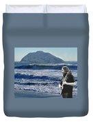 Jerry Garcia At Mt Tamalpaisland 3 Duvet Cover