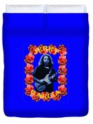 Jerry In Blue With Rose Frame Duvet Cover
