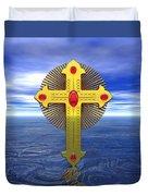 Jerrys Cross 20 Duvet Cover