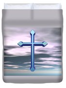 Jerrys Cross  Duvet Cover