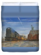 Jersey Central Lines Duvet Cover