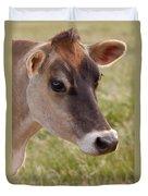 Jersey Cow Portrait Duvet Cover