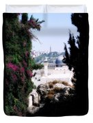 Jerusalem Beautiful Duvet Cover