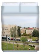 Jerusalem Near New Gate Duvet Cover