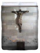 Jesus Chapel Icon - San Francisco Duvet Cover