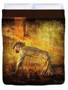 Jesus Falls Again Via Dolorosa 7 Duvet Cover