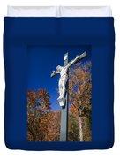 Jesus On The Cross Duvet Cover