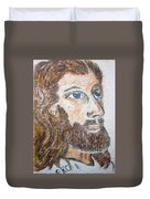 Jesus Our Saviour Duvet Cover