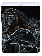 Jesus Preaching On The Mount Duvet Cover