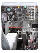 Jet Cockpit Duvet Cover