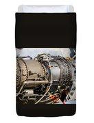 Jet Turbine Engine  Duvet Cover