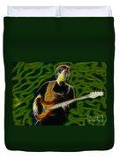 Jethro Tull-96-jonathon-c5-fractal Duvet Cover